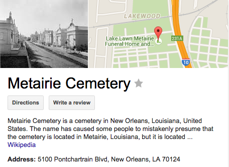 Metairie Cemetery